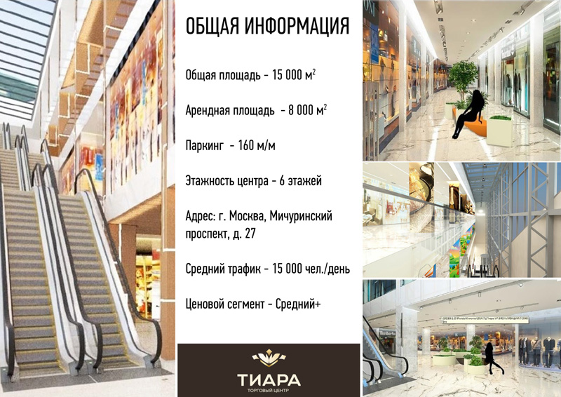 Презентация для аренды в торговом центре образец
